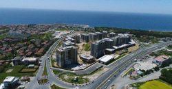 Güzelce شقق للبيع في جوزالجي مع اطلالة على البحر